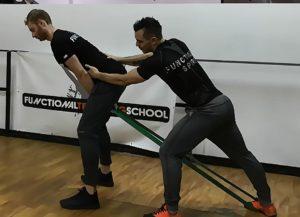 Hip hinge con elastico per swing perfetti