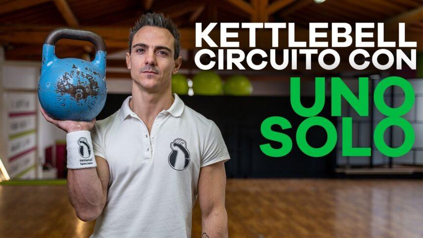 Workout con un solo Kettlebell