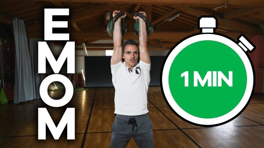 EMOM Workout. Allenati con i kettlebell in 10 minuti.