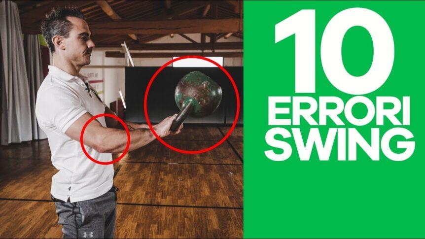 Kettlebell Power Swing Errori da evitare