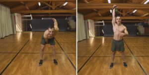 quarantena kettlebell workout snatch