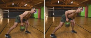 quarantena kettlebell workout rematore parziale alto