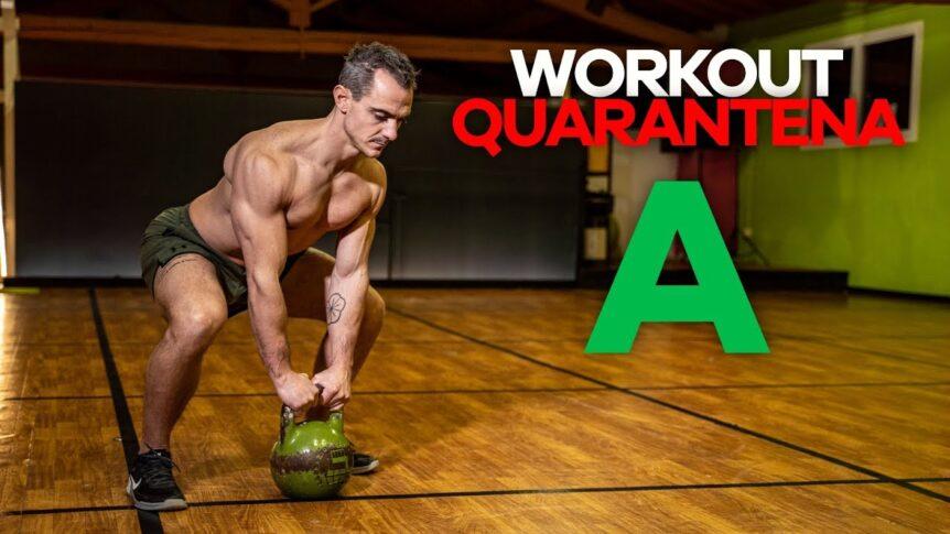 Quarantena Kettlebell Workout – Giorno A