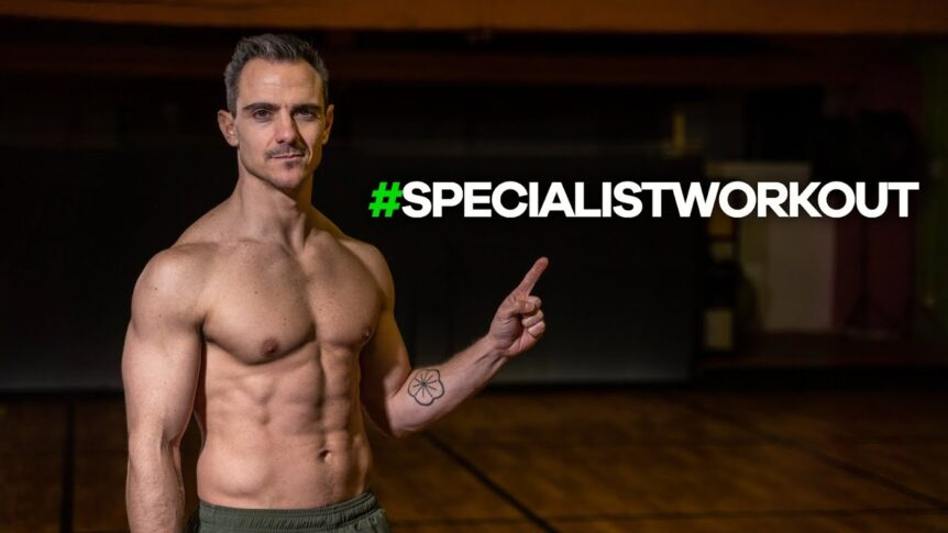 kettlebell specialist Workout Youtube