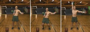 tabata kettlebell workout push press