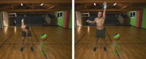 TABATA Kettlebell SNATCH Workout Strappo sx