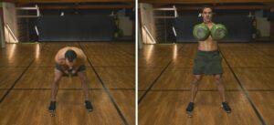 Workout con i Kettlebell degli ISCRITTI swing