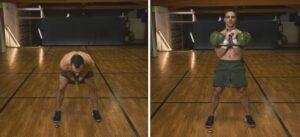 Workout con i Kettlebell degli ISCRITTI clean