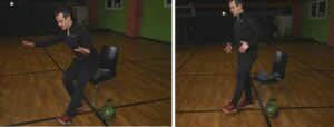 kettlebell home workout squat 1