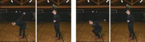 Kettlebell snatch propedeutica hip hinge accosciata